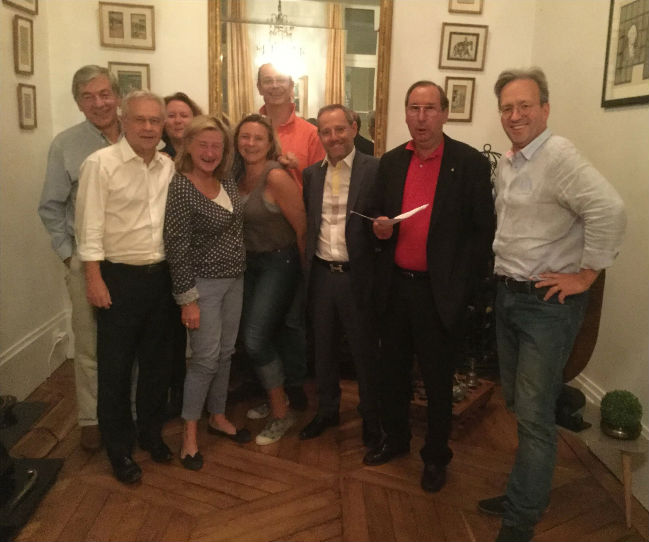 Le Lions Club de Rueil-Malmaison participe à la réunion de Bureau d`Esperanza